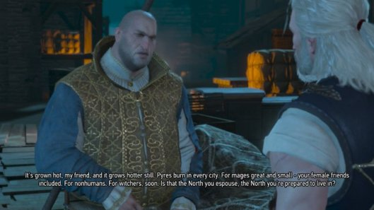 Witcher Its Grown Hot