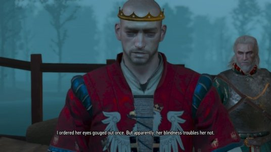 Witcher Ordered Her Eyes Gouged