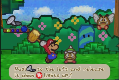 Paper Mario Action Command