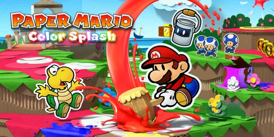 Paper Mario Color Splash Cover
