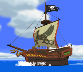 Wind Waker Pirate Ship